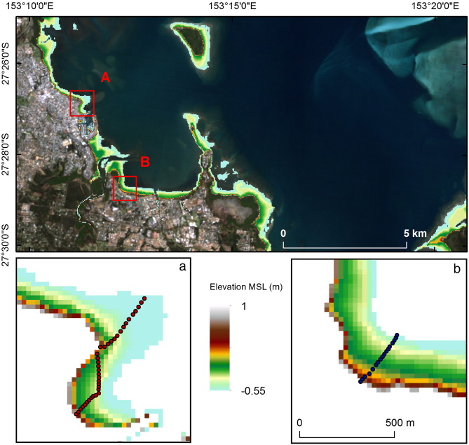 Extracting the intertidal extent and topography of the Australian