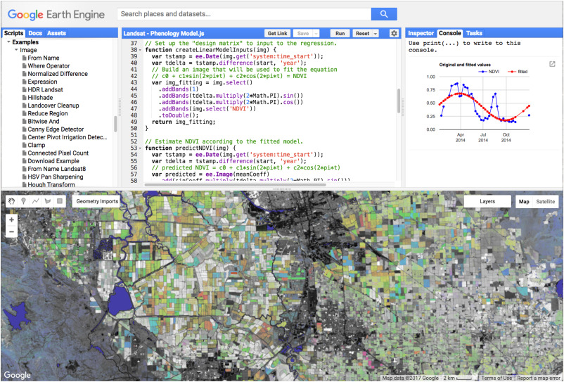 Google Earth Engine: Planetary-scale geospatial analysis for