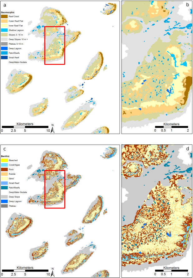 Coral reef applications of Sentinel-2: Coverage
