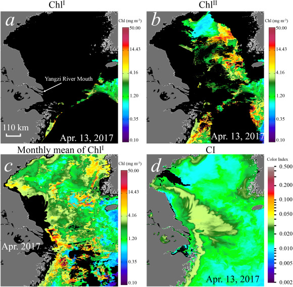 Improving ocean color data coverage through machine learning