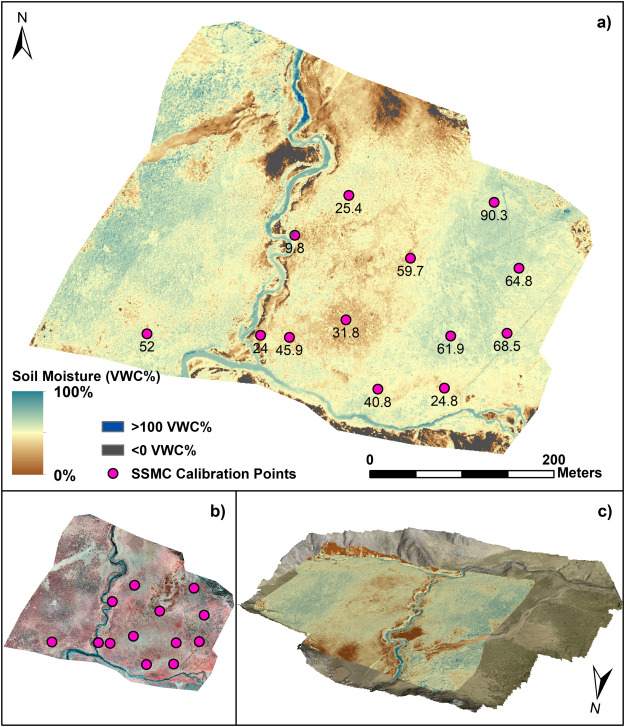 Sub-metre mapping of surface soil moisture in proglacial ...