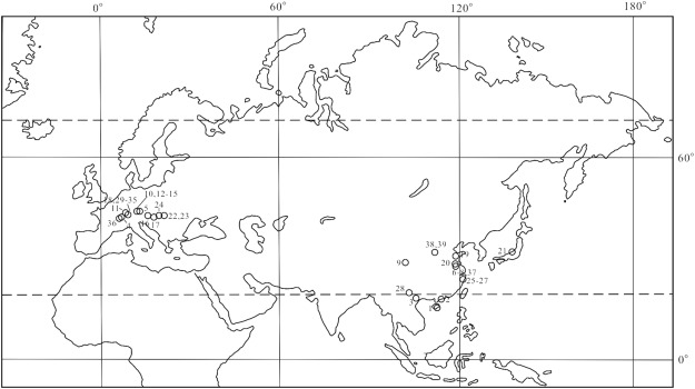 New records of Podocarpium A  Braun ex Stizenberger