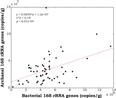 Variation in microbial community structure correlates with heavy