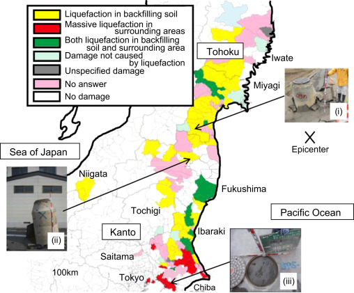Damage to sewage systems caused by the Great East Japan Earthquake
