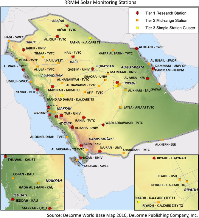 Assessment of solar radiation resources in Saudi Arabia ScienceDirect