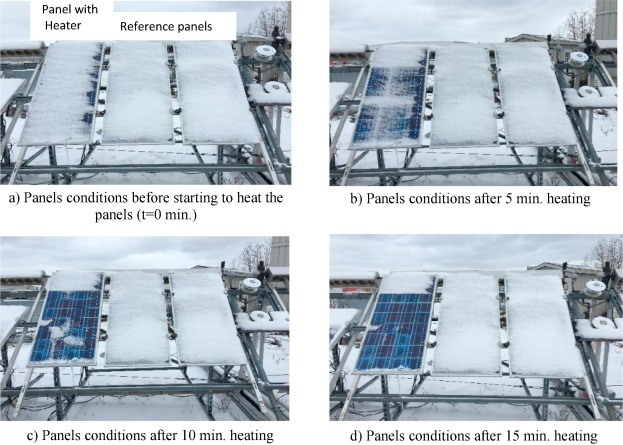 An experimental investigation of snow removal from