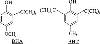 同时测定丁基化羟基茴香醚(BHA)和...