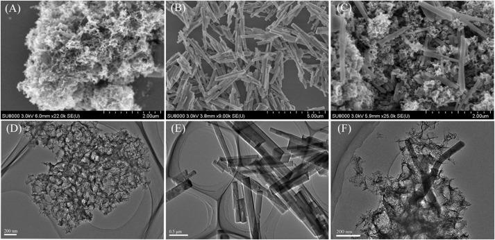 Rod-like Co based metal-organic framework embedded into