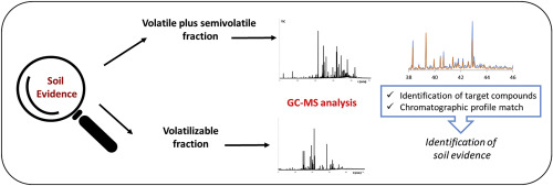 Gc Ms Qualitative Analysis Of The Volatile Semivolatile And Volatilizable Fractions Of Soil Evidence For Forensic Application A Chemical Fingerprinting Sciencedirect