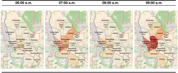 A spatial temporal vulnerability assessment to support the building