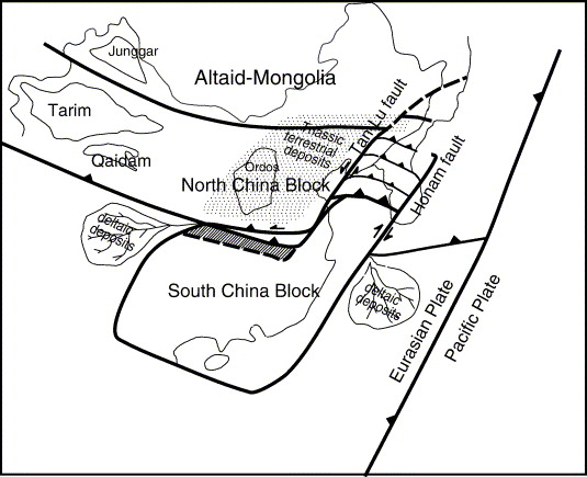 Mesozoic Lithospheric Deformation In The North China Block