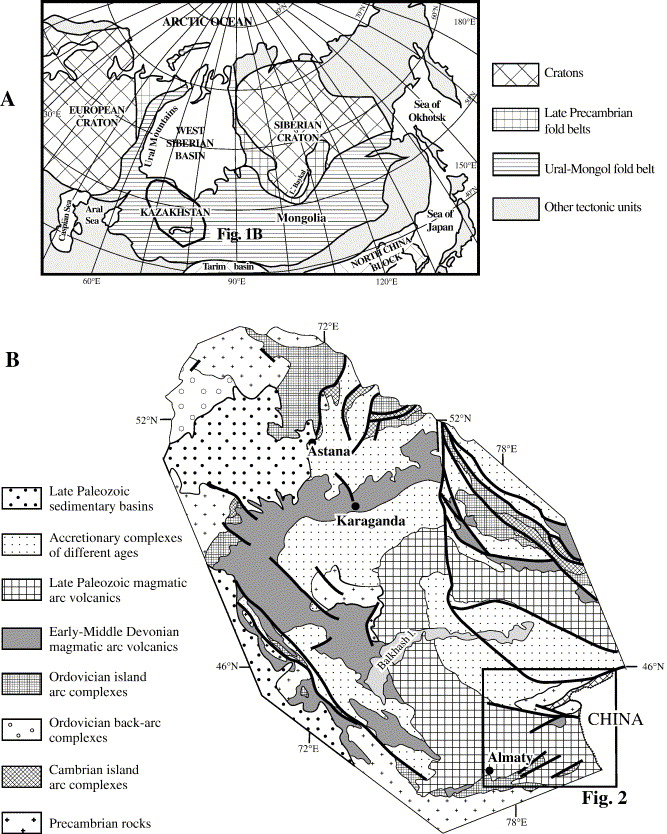 Late Orogenic Large Scale Rotations In The Tien Shan And Adjacent