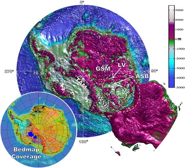 Resultado de imagen para antartida anomaly