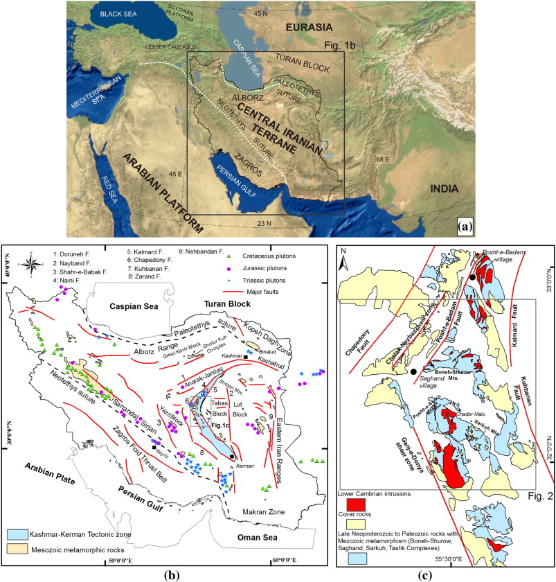 Cimmerian evolution of the Central Iranian basement: Evidence from ...