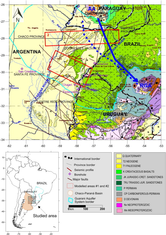 3d gravity modeling of the corrientes province ne argentina and location map of the chacoparan basin and corrientes province including the geological map modified from schobbenhaus and bellizzia 2001 publicscrutiny Images