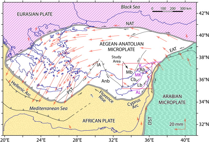 The PlioceneQuaternary tectonic evolution of the Cilicia and