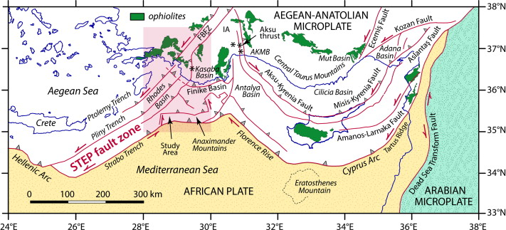 The FethiyeBurdur Fault Zone A component of upper plate extension