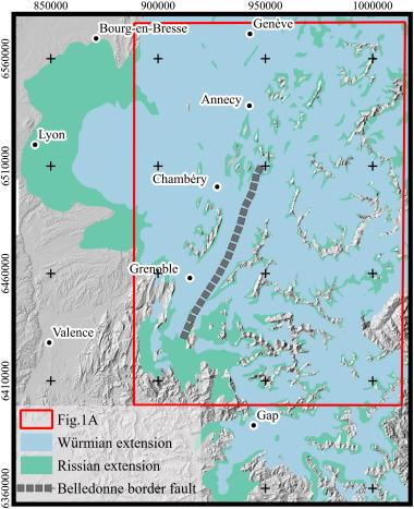 FRENCH ALPS Haute-Savoie Haute-Alpes Isère Savoie topo-map carte 1907 old