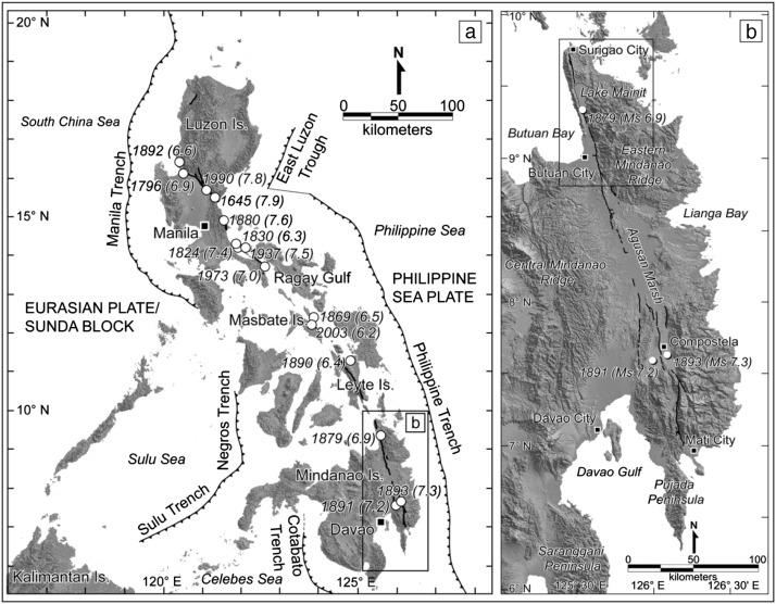 Tectonic geomorphology and paleoseismology of the Surigao