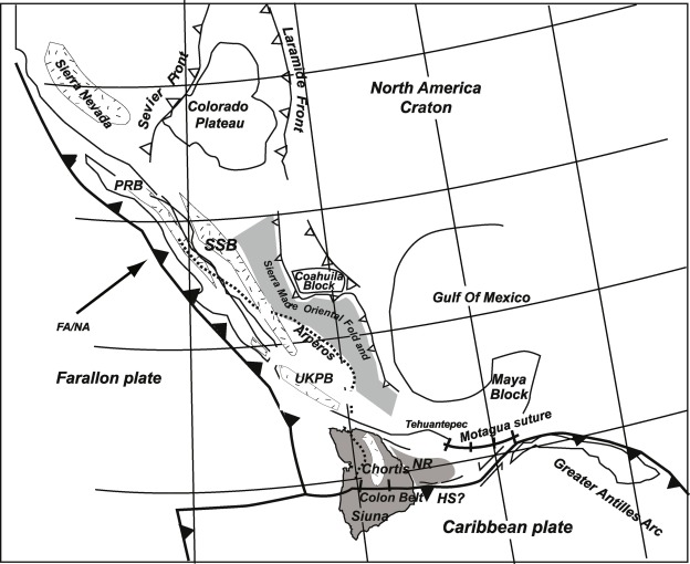 Large-scale rotations of the Chortis Block (Honduras) at the