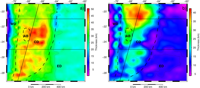 3D data-derived lithospheric structure of the Central Andes and its