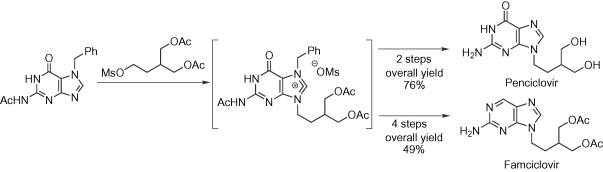 Image result for penciclovir synthesis
