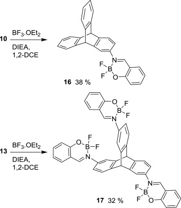 Triptycene Scaffolds Synthesis And Properties Of Triptycene Derived