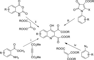 Synthesis Of 4 Hydroxyquinoline 23 Dicarboxylates Using N 2