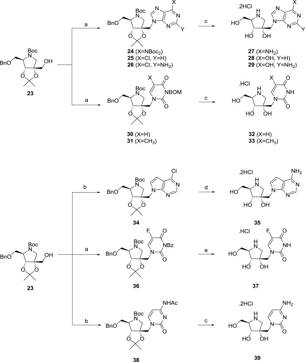 Image result for Galidesivir SYNTHESIS