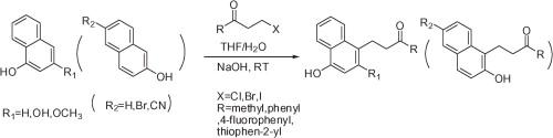 萘酚的一种新颖的Friedel-Crafts烷基化反应,而不路易斯酸