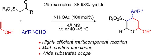 Highly efficient synthesis of tetrasubstituted 2,3