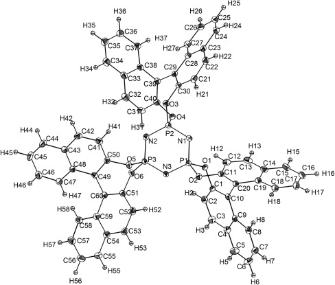 Crystal Structure Of Trisbinolcyclotriphosphazene A New