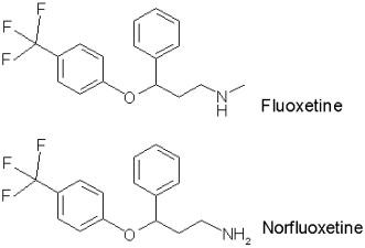 generic prozac fluoxetine side effects