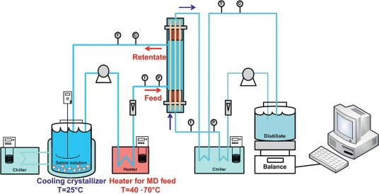 Crystallization techniques in wastewater treatment: An