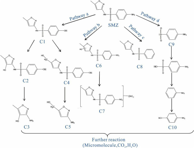 Degradation Of Sulfamethoxazole In Aqueous Solution By Dielectric