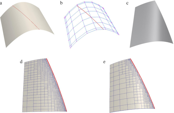 Weighted T-splines with application in reparameterizing