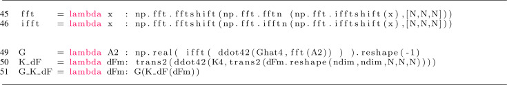 Finite strain FFT-based non-linear solvers made simple