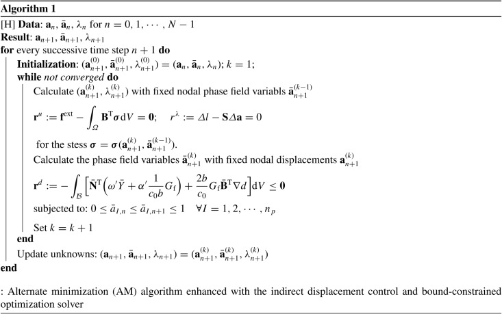 Robust Numerical Implementation Of Non Standard Phase Field Damage