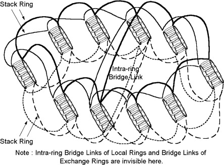 A Very Large Scale Switching System By Using Nested Ring Based