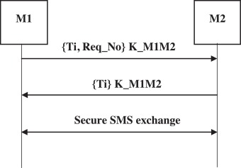 A new SmartSMS protocol for secure SMS communication in m