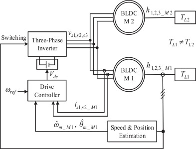 Modeling and synchronized control of dual parallel brushless direct on