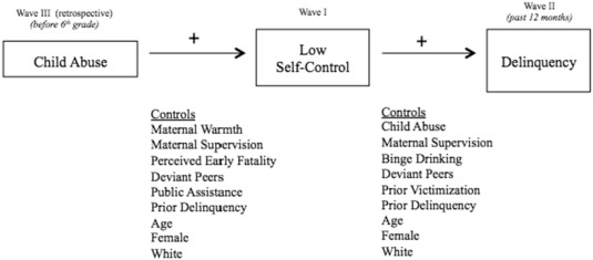 Child Abuse Self Control And Delinquency A General Strain