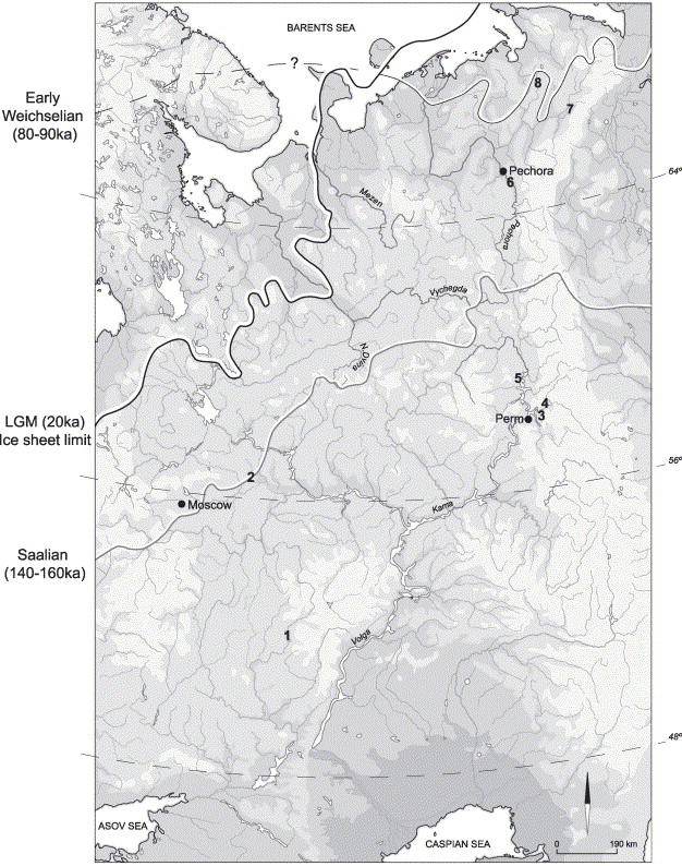 The Pleistocene Colonization Of Northeastern Europe A Report On