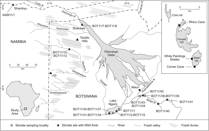 Going the distance: Mapping mobility in the Kalahari Desert