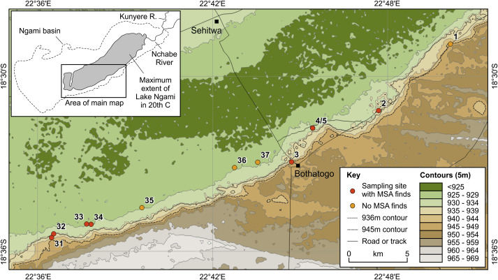 Going the distance: Mapping mobility in the Kalahari Desert during ...
