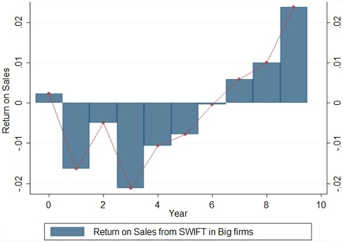 The long-term effect of digital innovation on bank performance: An