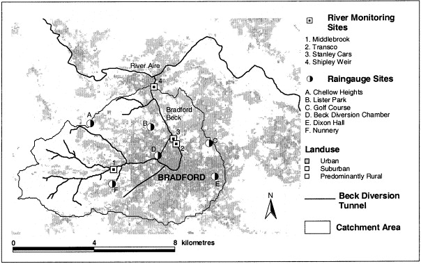 The Impact Of A Convectional Summer Rainfall Event On River Flow And