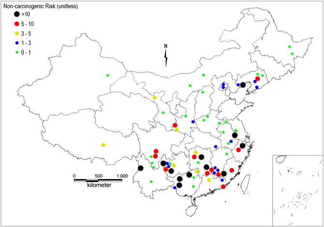 A review of soil heavy metal pollution from mines in China