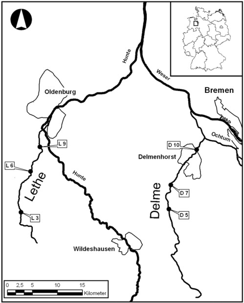 Comparative test of ecological assessment methods of lowland streams ...