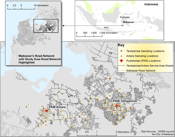 Challenges in evaluating pm concentration levels commuting exposure study site location ccuart Choice Image